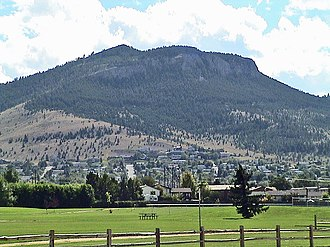 Mount Helena City Park - Mount Helena viewed from the north