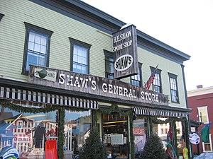 Stowe, Vermont - Image: 2004 02 25 05 Main Street, Stowe