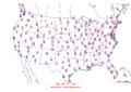 2008-02-10 Max-min Temperature Map NOAA.png