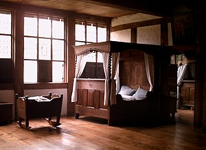 Bed - Bedroom on the Detmold Open-air Museum premises