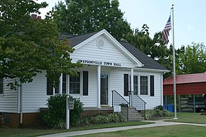 Swepsonville, North Carolina - Swepsonville Town Hall