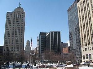 Lafayette Square (Buffalo) - Image: 20080310 Lafayette Square
