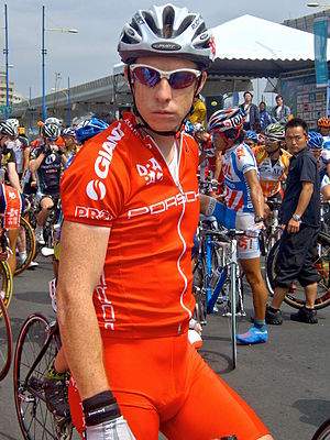 Peter McDonald (cyclist) - Image: 2008Tour De Taiwan Stage 7 Peter Mc Donald