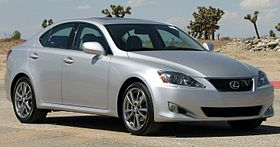 2008 Lexus IS250    NHTSA