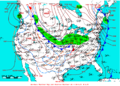 2009-01-14 Surface Weather Map NOAA.png