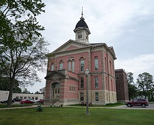 Menominee, Michigan - Menominee County Courthouse, Menominee.