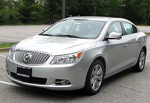 2010 Buick LaCrosse CXL photographed in Woodbr...