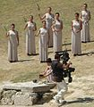 2010 Summer Youth Olympics torch ignition ceremony-olympic flame1.jpg