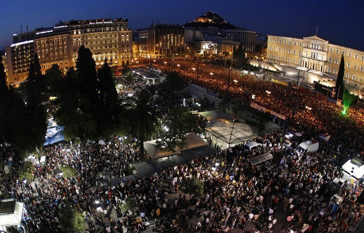 2011 Greece Uprising