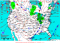 2012-01-28 Surface Weather Map NOAA.png