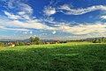 2012 Kocobędz, Krajobraz widziany z łąki (03).jpg