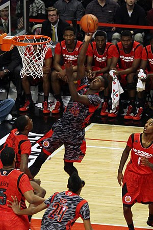 2013–14 California Golden Bears men's basketball team - Jabari Bird in the 2013 McDonald's All-American Boys Game