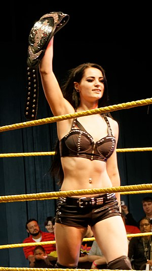 Paige (wrestler) - Paige as NXT Women's Champion