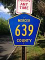 2014-05-17 09 24 27 Sign for Mercer County Route 639 on Arctic Parkway (Mercer County Route 639) in Ewing, New Jersey.JPG