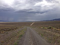 2014-07-28 13 41 06 View northwest from the entrance to Berlin-Ichthyosaur State Park, Nevada.JPG