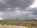 2014-07-30 15 18 10 Thunderstorm over Rallston Valley in Nye County, Nevada.JPG