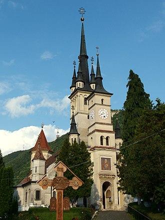 Dan III of Wallachia - The Orthodox St. Nicholas Church in Șcheii in Brașov