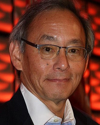 Steven Chu - Steven Chu in 2014 at a speech he delivered on climate change and energy use