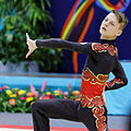 2014 Acrobatic Gymnastics World Championships - Men's pair - Qualifications - Belarus 08.jpg