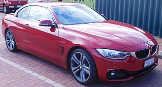 BMW 4 Series (F32) - BMW 420d convertible