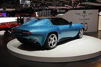 Alfa Romeo Disco Volante by Touring - Alfa Romeo Disco Volante Spyder