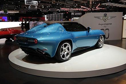 Alfa Romeo Disco Volante By Touring Wikiwand