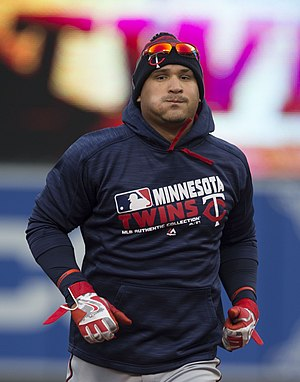 Oswaldo Arcia - Arcia with the Minnesota Twins in 2016