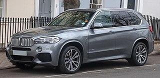 BMW X5 (F15) Motor vehicle
