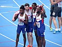2017 European Athletics U23 Championships, 4x100m relay men final13 16-07-2017.jpg