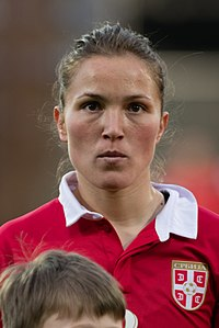 20180405 FIFA Women's World Cup Qualification AUT-SRB Jelena Cubrilo 850 6595.jpg