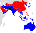 2018 U16 AFC Asian Cup qualifying map.png