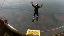 30 June 2018: Marc Hauser's free fall skydive into the jet stream nr Forbes/Australia.