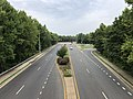 2019-08-13 12 39 42 View north along U.S. Route 17 Business and Virginia State Route 2 (Dixon Street) from the overpass for Virginia State Route 3 (Blue and Gray Parkway) in Fredericksburg, Virginia.jpg