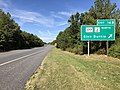 2019-09-19 10 36 44 View west along Maryland State Route 100 (Paul T. Pitcher Memorial Highway) at Exit 16B (Maryland State Route 117, Maryland State Route 2 NORTH, Glen Burnie) in Pasadena, Anne Arundel County, Maryland.jpg