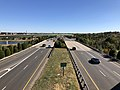 2019-10-18 14 42 50 View south along Virginia State Route 234 (Prince William Parkway) from the ramp connecting northbound Virginia State Route 28 to northbound Virginia State Route 234 on the border of Manassas, Virginia and Bristow, Virginia.jpg