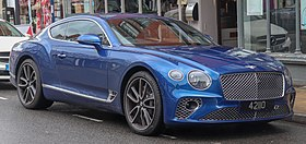 2019 Bentley Continental GT Coupe 6.0 Front.jpg