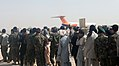 215th Corps soldiers conduct first Afghan-operated leave flight for rest, relaxation 140930-M-YZ032-408.jpg