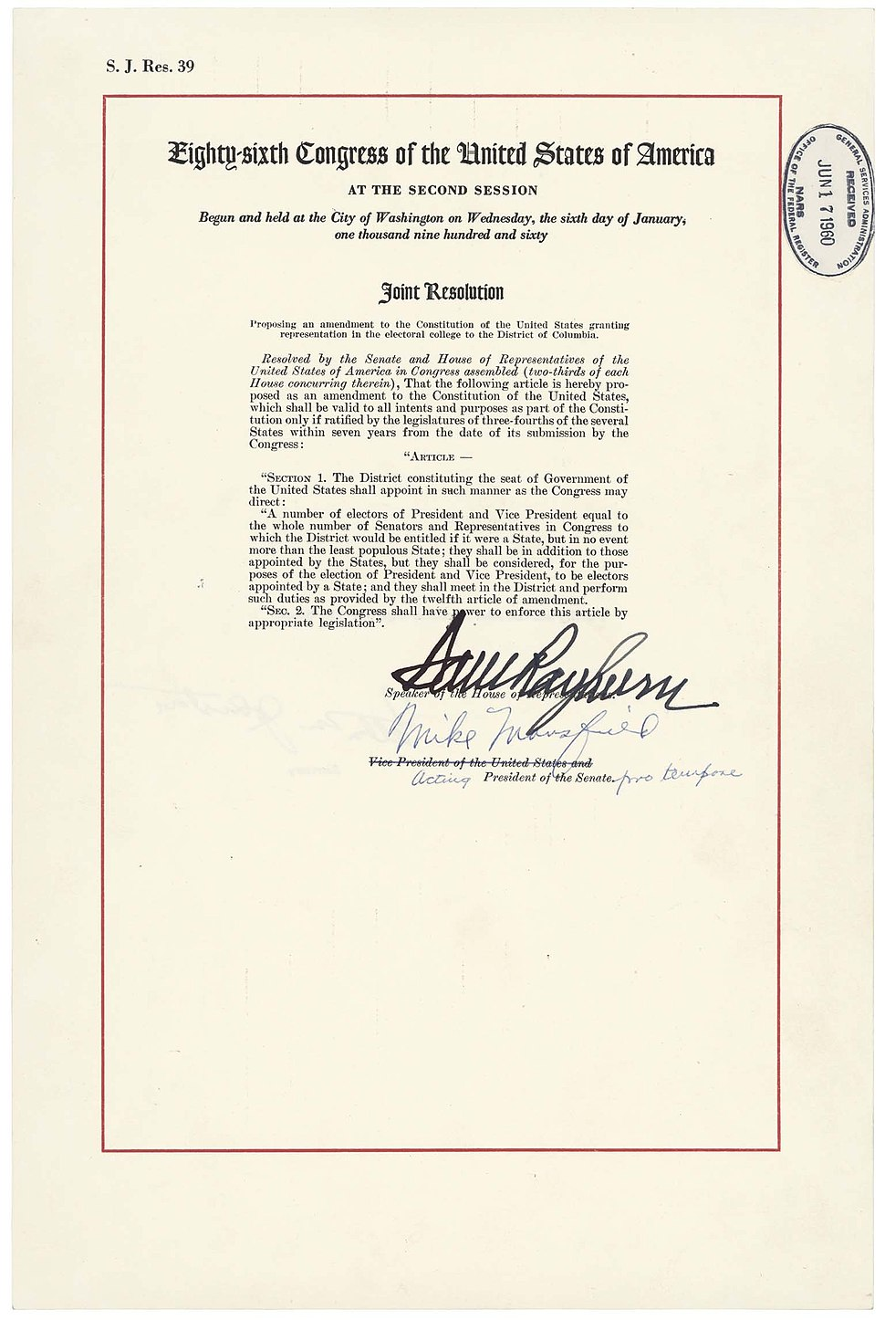 23rd Amendment Pg1of1 AC