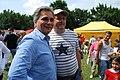 27.06.2009 Werner Faymann auf dem Wiener Donauinselfest (3671347606).jpg