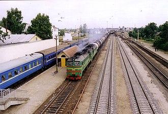 Radviliškis - Radviliškis railway station