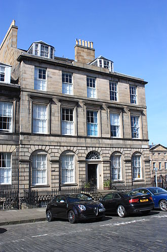 Adam Black - Black's house at 30 Broughton Place, Edinburgh