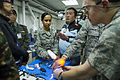 376th EMDG conducts joint dental training with Kyrgyz dentists 131213-F-VU439-122.jpg