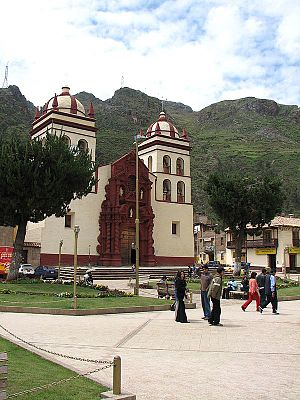 Huancavelica Region - The cathedral of Huancavelica