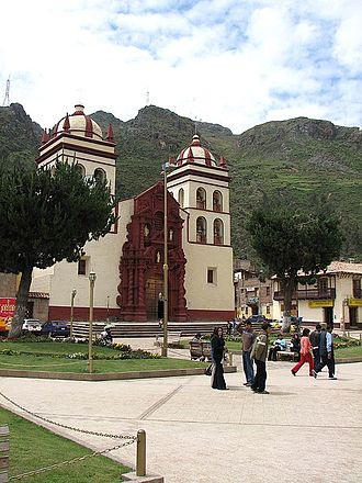 Department of Huancavelica - The cathedral of Huancavelica
