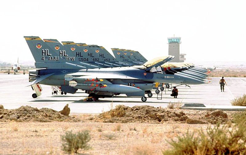 388th Tactical Fighter Wing - Desert Storm - 1991