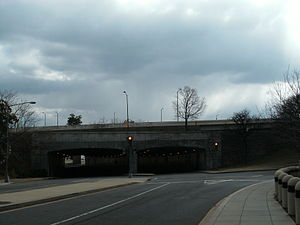 Interstate 395 (Virginia–District of Columbia) - I-395 bridge over 12th Street SW in Washington, D.C.