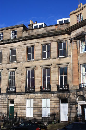 John Sinclair, 1st Baron Pentland - 6 Moray Place, Edinburgh, birthplace of John Sinclair