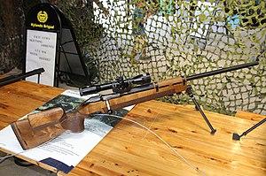 7,62 Tarkkuuskivääri 85 Lippujuhlan päivä 2013