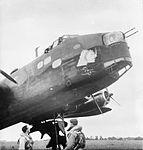 7 Squadron Stirling at RAF Oakington WWII IWM D 4752.jpg