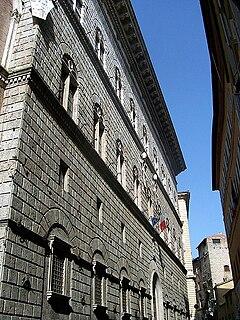 Palazzo Piccolomini, Siena building in Siena, Italy